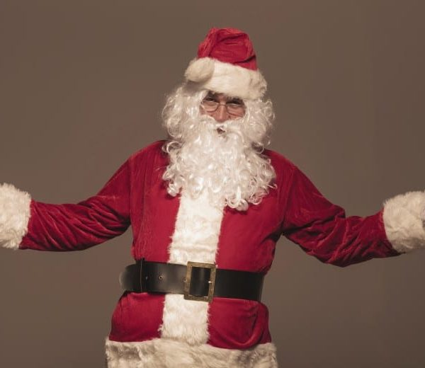 A picture of Santa Claus