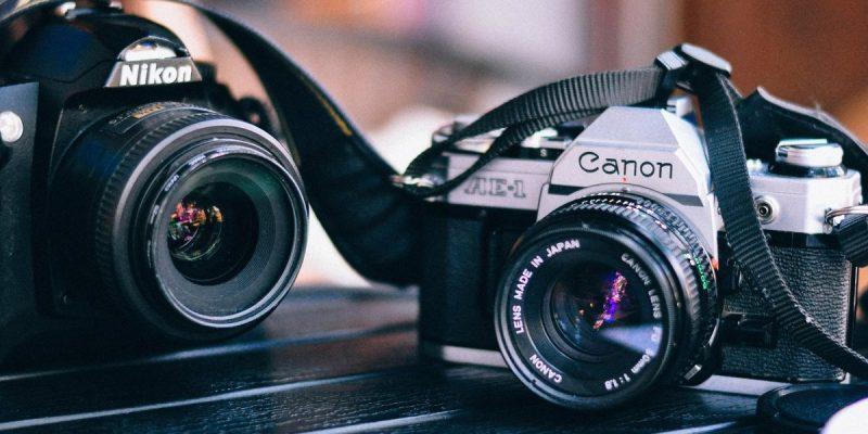 Nikon and Canon Cameras