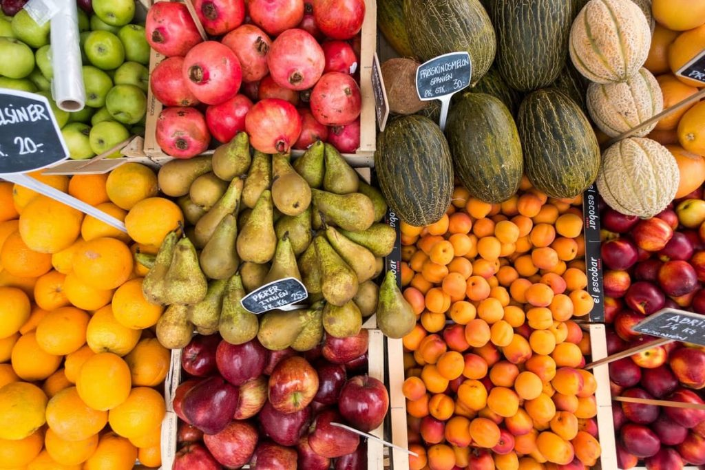 Fresh Fruit Segments Marketing Segmentation