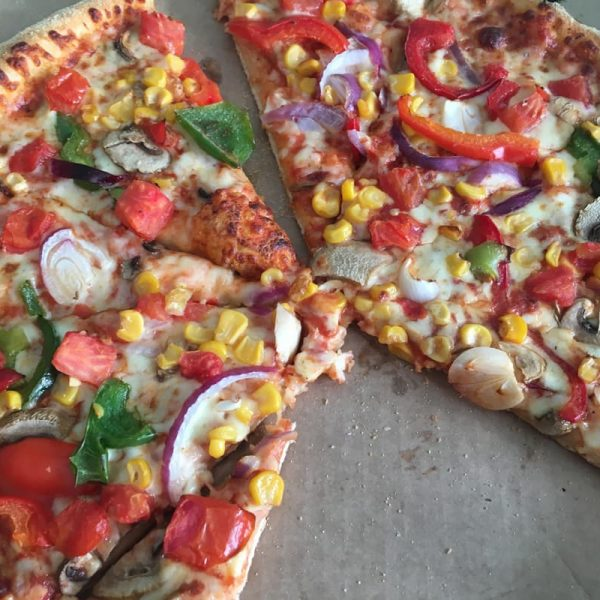 A Dominoes Pizza at the Colchester Marketing MeetUp