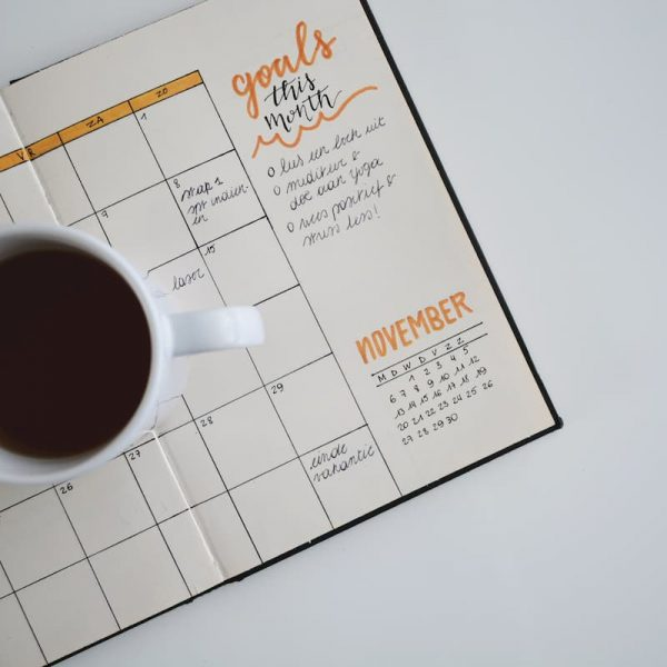 A planner to hit marketing goals