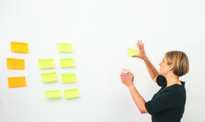 10 things _post it notes